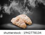 A Pile Of Delicious Croissants...
