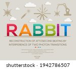 rabbit mean  reconstruction of... | Shutterstock .eps vector #1942786507
