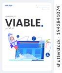 a mvp concept poster. minimum...   Shutterstock .eps vector #1942841074