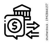 fiscal policy line icon vector. ...   Shutterstock .eps vector #1942866157