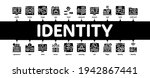 digital identity user minimal... | Shutterstock .eps vector #1942867441