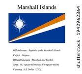 marshall islands national flag  ...   Shutterstock .eps vector #1942962364