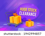 huge stock clearance special... | Shutterstock .eps vector #1942994857