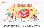 La Tomatina Landing Page...