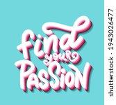 hand lettering typography... | Shutterstock .eps vector #1943026477
