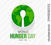 world hunger day is observed... | Shutterstock .eps vector #1943030251