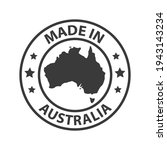 made in australia icon. stamp... | Shutterstock .eps vector #1943143234