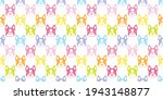 dog seamless pattern french... | Shutterstock .eps vector #1943148877
