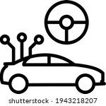 self driving wiring and... | Shutterstock .eps vector #1943218207