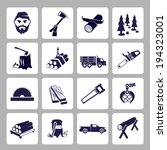 axe,business,carpentry,chainsaw,circular,collection,computer,cutting,deforestation,design,electric,elements,equipment,forest,icons