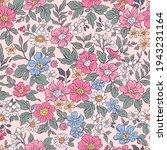 vintage seamless floral pattern....   Shutterstock .eps vector #1943231164