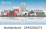 bismarck north dakota city...   Shutterstock .eps vector #1943256271