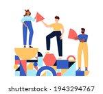 teamwork  coworking  business... | Shutterstock .eps vector #1943294767