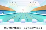 swimming pool landing page in... | Shutterstock .eps vector #1943294881