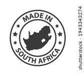 made in south africa icon....   Shutterstock .eps vector #1943343274