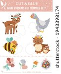 vector mothers day cut and glue ... | Shutterstock .eps vector #1943398174