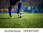 kick the soccer ball | Shutterstock . vector #194347445