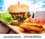 Delicious Fresh Homemade Burger ...