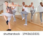Group Of Adult Dancers...