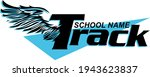 track and field team design... | Shutterstock .eps vector #1943623837