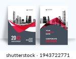 corporate book cover design... | Shutterstock .eps vector #1943722771