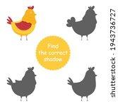 cute vector chicken  cartoon... | Shutterstock .eps vector #1943736727