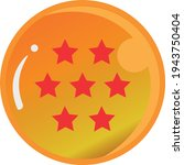 dragon ball series  vector of... | Shutterstock .eps vector #1943750404