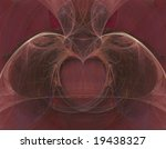 3d fractal heart and lungs... | Shutterstock . vector #19438327