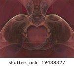 3d fractal heart and lungs...   Shutterstock . vector #19438327