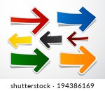 vector illustration of sticky... | Shutterstock .eps vector #194386169