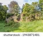 Deserted Old Ruin In Rural...