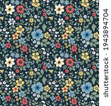 seamless floral pattern. ditsy... | Shutterstock .eps vector #1943894704