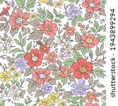 vintage seamless floral pattern.... | Shutterstock .eps vector #1943899294