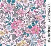 vintage seamless floral pattern....   Shutterstock .eps vector #1943902384