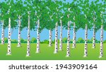 a beautiful landscape with a...   Shutterstock .eps vector #1943909164