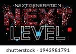 next generation next level... | Shutterstock .eps vector #1943981791