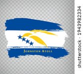 flag of johnston atoll from...
