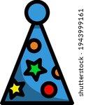 party cone hat icon. editable...