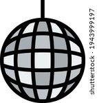 party disco sphere icon....