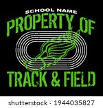 distressed property of track... | Shutterstock .eps vector #1944035827