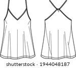 camisole technical fashion...   Shutterstock .eps vector #1944048187