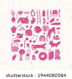 crosshatch pen line style...   Shutterstock .eps vector #1944080584
