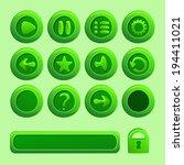 mobile green vector elements...