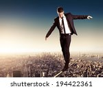 high wire | Shutterstock . vector #194422361