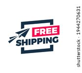 free shipping flat design color ...   Shutterstock .eps vector #1944270631