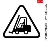 forklift trucks and other... | Shutterstock .eps vector #1944312637