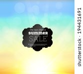 summer sale collection. vector... | Shutterstock .eps vector #194431691