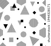 seamless geometric pattern.... | Shutterstock . vector #1944328171