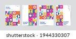 color neo geo poster. modern... | Shutterstock .eps vector #1944330307
