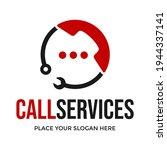 call services vector logo... | Shutterstock .eps vector #1944337141